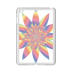 Chromatic Flower Gold Rainbow Star Ipad Mini 2 Enamel Coated Cases by Alisyart