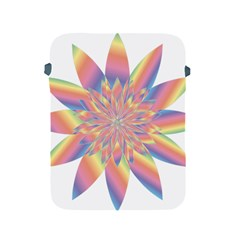 Chromatic Flower Gold Rainbow Star Apple Ipad 2/3/4 Protective Soft Cases by Alisyart