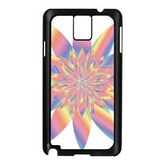 Chromatic Flower Gold Rainbow Star Samsung Galaxy Note 3 N9005 Case (black) by Alisyart