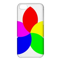 Fan Star Floral Apple Iphone 5c Hardshell Case by Alisyart