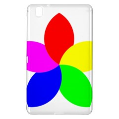 Fan Star Floral Samsung Galaxy Tab Pro 8 4 Hardshell Case by Alisyart