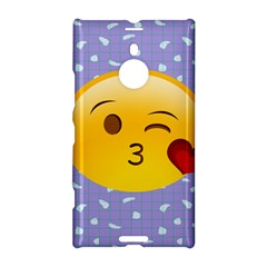 Face Smile Orange Red Heart Emoji Nokia Lumia 1520 by Alisyart