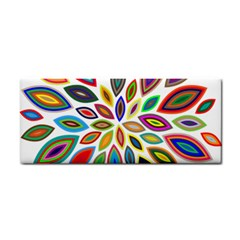Chromatic Flower Petals Rainbow Cosmetic Storage Cases by Alisyart
