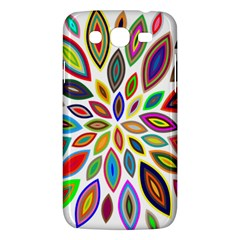 Chromatic Flower Petals Rainbow Samsung Galaxy Mega 5 8 I9152 Hardshell Case  by Alisyart