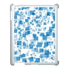 Pattern Apple Ipad 3/4 Case (white) by Valentinaart