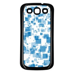 Pattern Samsung Galaxy S3 Back Case (black) by Valentinaart