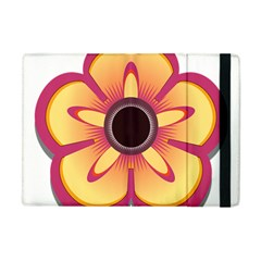 Flower Floral Hole Eye Star Apple Ipad Mini Flip Case by Alisyart