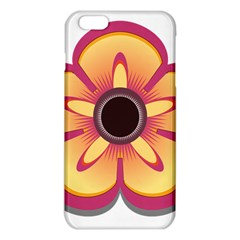 Flower Floral Hole Eye Star Iphone 6 Plus/6s Plus Tpu Case by Alisyart