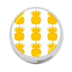 Fruit Pineapple Printable Orange Yellow 4 Port Usb Hub (two Sides)  by Alisyart