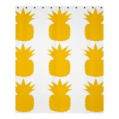 Fruit Pineapple Printable Orange Yellow Shower Curtain 60  X 72  (medium)  by Alisyart