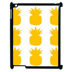 Fruit Pineapple Printable Orange Yellow Apple Ipad 2 Case (black) by Alisyart
