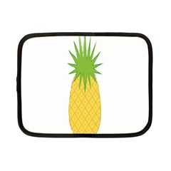 Fruit Pineapple Yellow Green Netbook Case (small)  by Alisyart