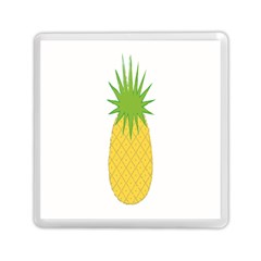 Fruit Pineapple Yellow Green Memory Card Reader (square)  by Alisyart