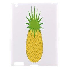 Fruit Pineapple Yellow Green Apple Ipad 3/4 Hardshell Case by Alisyart