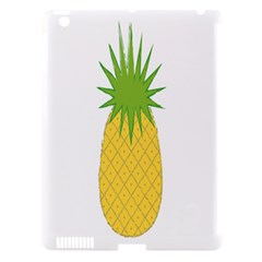 Fruit Pineapple Yellow Green Apple Ipad 3/4 Hardshell Case (compatible With Smart Cover) by Alisyart