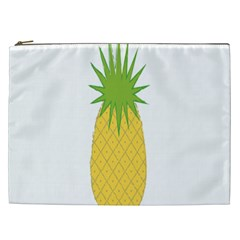 Fruit Pineapple Yellow Green Cosmetic Bag (xxl)  by Alisyart