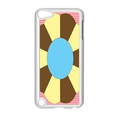 Garage Door Quilts Flower Line Apple Ipod Touch 5 Case (white) by Alisyart