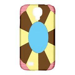 Garage Door Quilts Flower Line Samsung Galaxy S4 Classic Hardshell Case (pc+silicone) by Alisyart