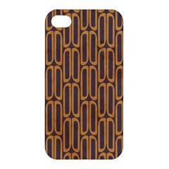 Chains Abstract Seamless Apple Iphone 4/4s Hardshell Case by Simbadda