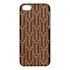 Chains Abstract Seamless Apple Iphone 5c Hardshell Case by Simbadda