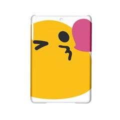 Happy Heart Love Face Emoji Ipad Mini 2 Hardshell Cases by Alisyart