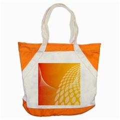 Abstract Orange Background Accent Tote Bag by Simbadda