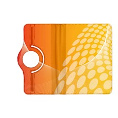 Abstract Orange Background Kindle Fire Hd (2013) Flip 360 Case by Simbadda