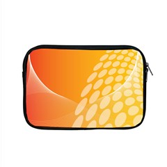 Abstract Orange Background Apple Macbook Pro 15  Zipper Case by Simbadda
