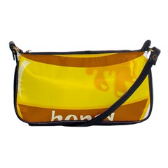 Honet Bee Sweet Yellow Shoulder Clutch Bags by Alisyart