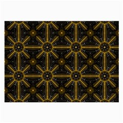 Digitally Created Seamless Pattern Tile Large Glasses Cloth (2 Side) by Simbadda