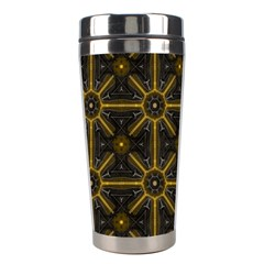 Digitally Created Seamless Pattern Tile Stainless Steel Travel Tumblers by Simbadda