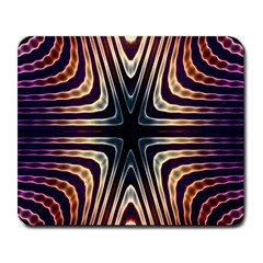 Vibrant Pattern Colorful Seamless Pattern Large Mousepads by Simbadda