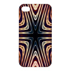 Vibrant Pattern Colorful Seamless Pattern Apple Iphone 4/4s Premium Hardshell Case by Simbadda