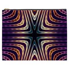 Vibrant Pattern Colorful Seamless Pattern Cosmetic Bag (xxxl)  by Simbadda