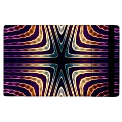Vibrant Pattern Colorful Seamless Pattern Apple Ipad 2 Flip Case by Simbadda