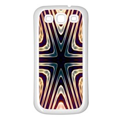Vibrant Pattern Colorful Seamless Pattern Samsung Galaxy S3 Back Case (white) by Simbadda