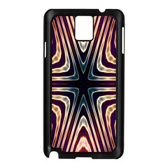 Vibrant Pattern Colorful Seamless Pattern Samsung Galaxy Note 3 N9005 Case (black) by Simbadda