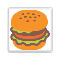 Hamburger Memory Card Reader (square)  by Alisyart