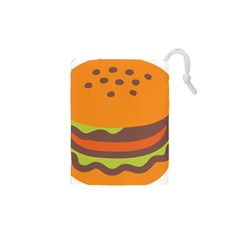 Hamburger Drawstring Pouches (xs)  by Alisyart