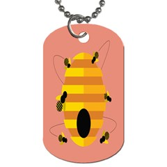 Honeycomb Wasp Dog Tag (two Sides) by Alisyart