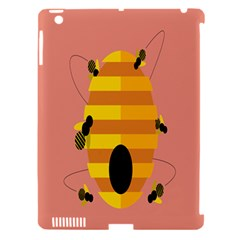 Honeycomb Wasp Apple Ipad 3/4 Hardshell Case (compatible With Smart Cover) by Alisyart