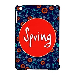 Floral Texture Pattern Card Floral Seamless Vector Apple Ipad Mini Hardshell Case (compatible With Smart Cover) by Simbadda