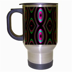 Colorful Seamless Pattern Vibrant Pattern Travel Mug (silver Gray) by Simbadda