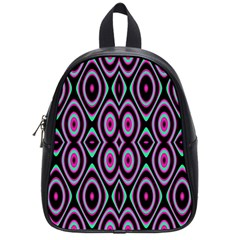Colorful Seamless Pattern Vibrant Pattern School Bags (small)  by Simbadda