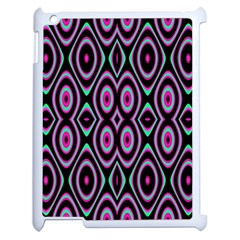 Colorful Seamless Pattern Vibrant Pattern Apple Ipad 2 Case (white) by Simbadda