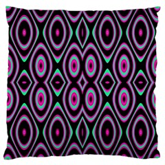 Colorful Seamless Pattern Vibrant Pattern Large Cushion Case (two Sides) by Simbadda