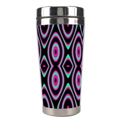 Colorful Seamless Pattern Vibrant Pattern Stainless Steel Travel Tumblers by Simbadda