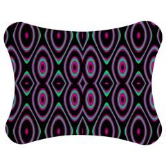 Colorful Seamless Pattern Vibrant Pattern Jigsaw Puzzle Photo Stand (bow) by Simbadda