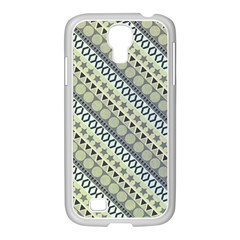 Abstract Seamless Background Pattern Samsung Galaxy S4 I9500/ I9505 Case (white) by Simbadda