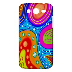 Hand Painted Digital Doodle Abstract Pattern Samsung Galaxy Mega 5 8 I9152 Hardshell Case  by Simbadda